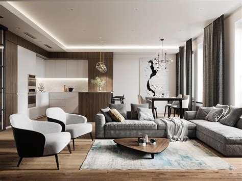 sophisticated modern glamour home