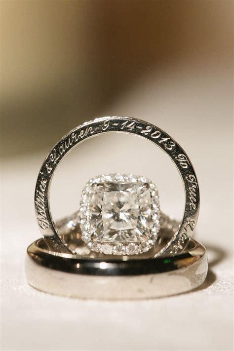 Engraved Wedding Ring   Elizabeth Anne Designs: The