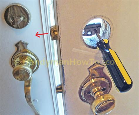 How To Remove Schlage Door Knob by How To Install A Schlage Keypad Deadbolt