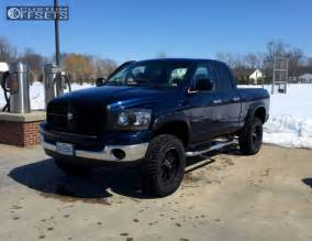 Dodge Leveling Kit Wheel Offset 2006 Dodge Ram 1500 Slightly Aggressive