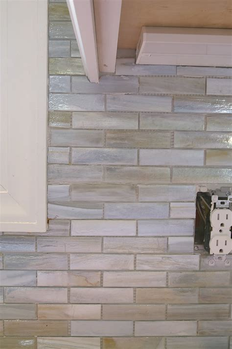 installing a paper faced mosaic tile backsplash