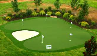 practice artificial backyard golf putting greens