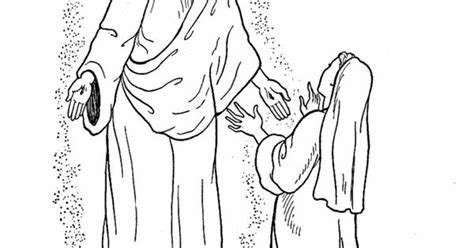 easter bible coloring page jesus appears to mary