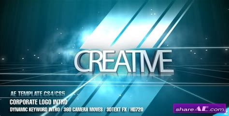 after effects cs4 intro templates free cool free videohive templates contemporary exle