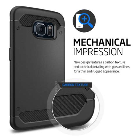 Samsung Galaxy S8 Spigen Rugged Capsule Soft Back New Spigen Ultra Rugged Capsule Samsung Galaxy S6 Edge Tough
