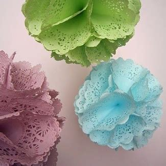 Crafts Using Paper Doilies - 20 pretty paper doily crafts you to see craft paper