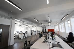 Office Lighting Slim Linear Office Lighting For Office Refurbishment