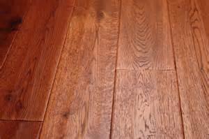 Unfinished Hand Scraped Hardwood Flooring - oak gunstock brazil 3 4 x 5 hand scraped solid hardwood floors