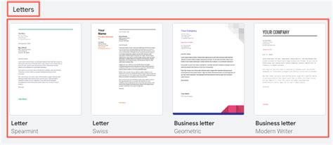 google docs cover letter templates google cover letters