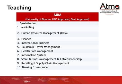 Alliance Mba Placements by Atma College Introduction For Placements V3 Mba 2014 16 Batch
