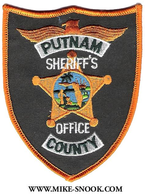 Putnam County Sheriff Office by Mike Snook S Patch Collection State Of Florida