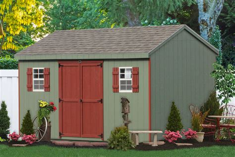 Outdoor Garages And Sheds by Premier Garden Storage Sheds For Sale Direct From The Amish