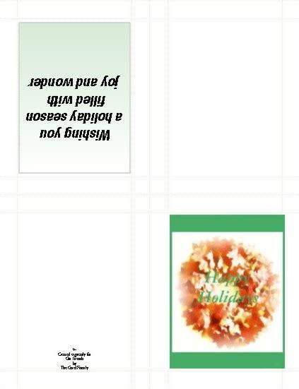 half fold greeting card templates for corel wordperfect wordperfect office tips tricks tips tricks