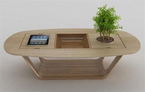 bonsai coffee table bonsai wood coffee table with integrated ipad module