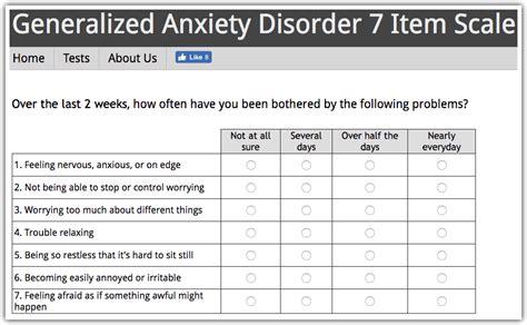 generalized anxiety disorder test gad anxietyhub