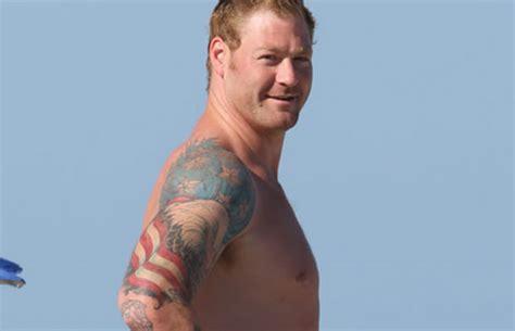 jeremy shockey tattoo shockey bald eagle the worst tattoos in nfl