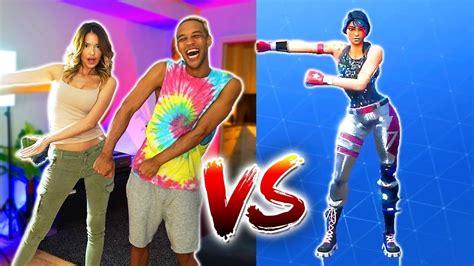 fortnite dance challenge  real life youtube