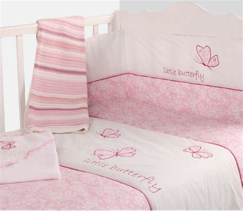 cot coverlet baby cot girls nursery bedding quilt bumper pink colour