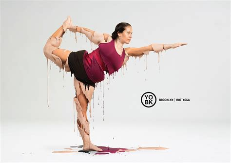 funny picture of hot yoga yo bk yoga studio print advert by jwt hot yoga 1 ads