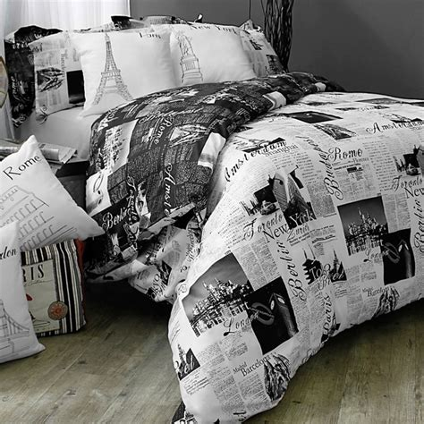 passport bedding set contemporary duvet covers and