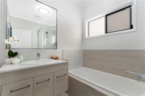 display home bathroom greater ascot townsville builder display home grady homes
