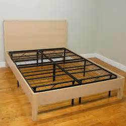 heavy duty bed frames classic brands hercules platform heavy duty metal bed