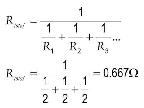formula for resistors in parallel circuits the gallery for gt resistance formula series