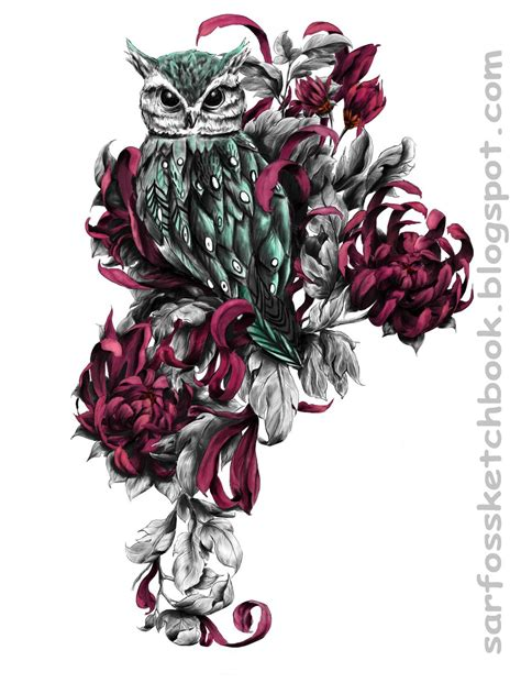 owl tattoo designs art dave tatoos guide owl designs