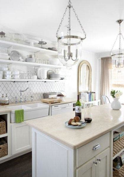 Pretty Kitchens With White Cabinets A Bright White Beautiful Kitchen Paperblog