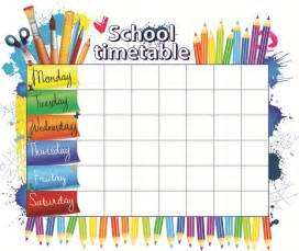 timetable templates for teachers 25 best ideas about school schedule on school