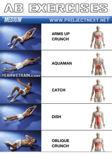 sixpack workout medium part 1 ab abdominal crunch exercise fitness we