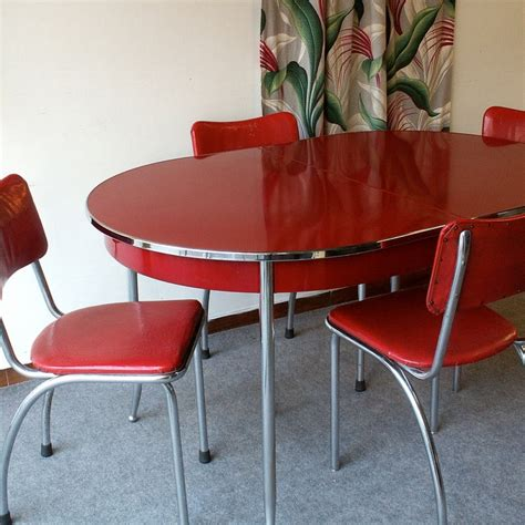 Vintage Kitchen Table And Chairs by 386 Best Images About Vintage And New Chrome Kitchen