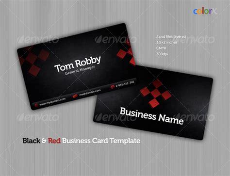 black business cards templates psd black business card template by colorx graphicriver