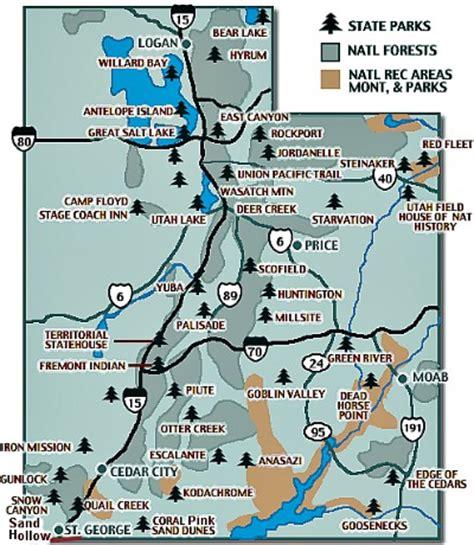 utah national parks map map of utah parks new york map