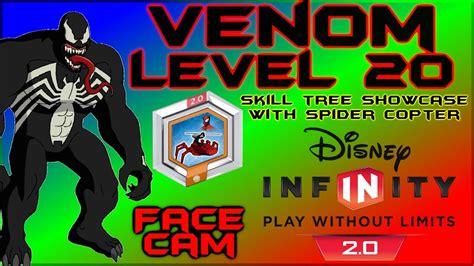 venom level skill tree lets play disney infinity