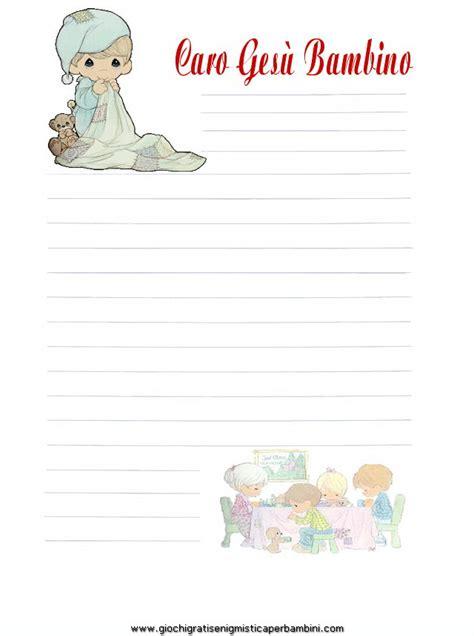 carta da lettere gratis carta da lettere gesu bambino5 giochi per bambini