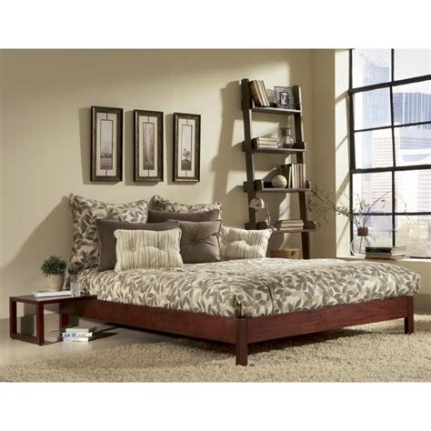 Murray Bed Frame Modern Platform In Mahogany B5108x