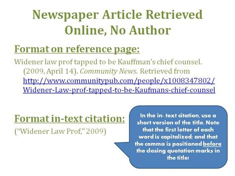 apa format online article no author awesome collection of how to cite a newspaper article in