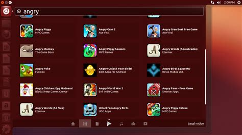 android themes for ubuntu 12 04 search android apps games from unity dash with ubuntu