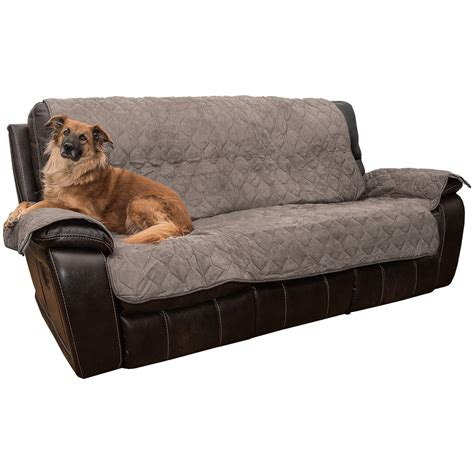 microsuede sofa cover yes pets quilted microsuede sofa cover microfiber save 37