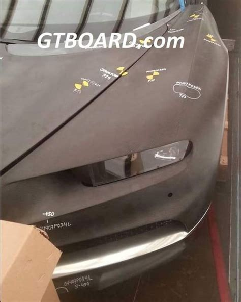 bugatti chiron crash bugatti chiron spied while crash testing dpccars