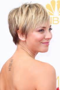 sweeting kaley cuoco new haircut emmy awards 2014 hair and beauty favourites glamour com uk