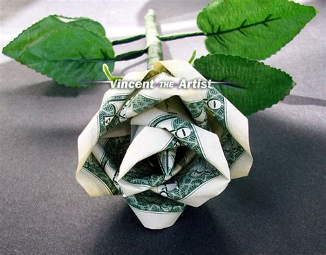 Money Origami Roses - unavailable listing on etsy
