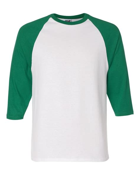 Baseball Sleeve Shirt anvil 2184 three quarter sleeve raglan baseball t shirt ebay