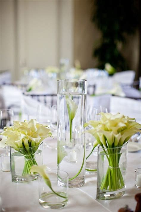 24 best wedding centerpieces calla lilies images on
