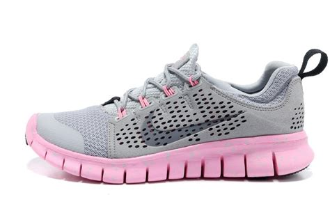 nike free powerlines 2 womens light gray pink shoes uk buy
