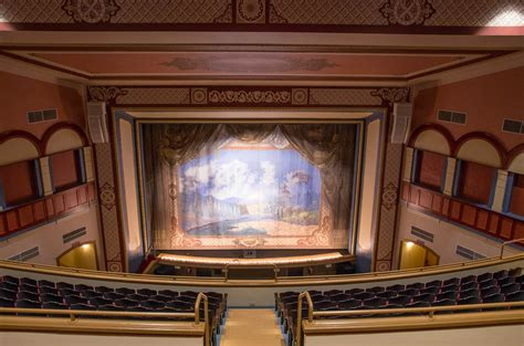 fire curtain theatre theatre tours woub digital