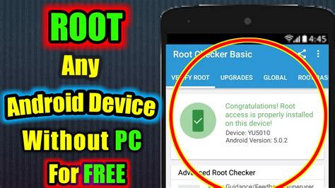 mobile root app how to root any android device in 2 min without pc for