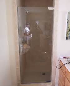 shower doors single shower doors frameless shower doors