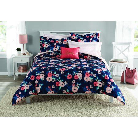 queen mainstays urban stripe bed in a bag coordinated bedding set mainstays bedding sets collections upc barcode upcitemdb